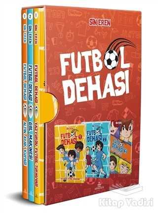 Ephesus Yayınları - Futbol Dehası 3'lü Set (Ciltli)