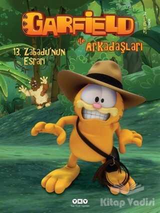 Yapı Kredi Yayınları - Garfield ile Arkadaşaları - 13. Zabadu'nun Esrarı