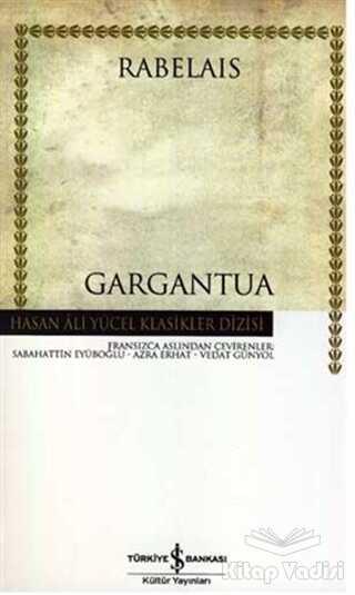 İş Bankası Kültür Yayınları - Gargantua