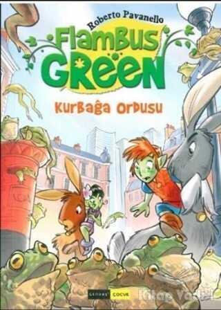 Gendaş Yayınları - Gendaş Flambus Green 3 - Kurbağa Ordusu