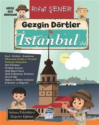Martı Çocuk Yayınları - Gezgin Dörtler İstanbul'da