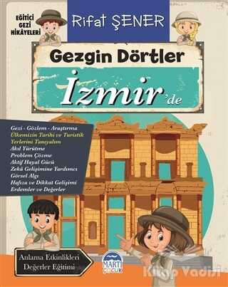 Martı Çocuk Yayınları - Gezgin Dörtler İzmir'de