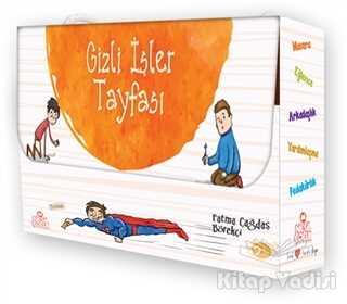Nesil Çocuk Yayınları - Gizli İşler Tayfası Set (5 Cilt Takım)