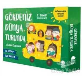 Mavi Kirpi Yayınları - Gökdeniz Dünya Turunda 2. Sınıf Okuma Seti (10 Kitap)