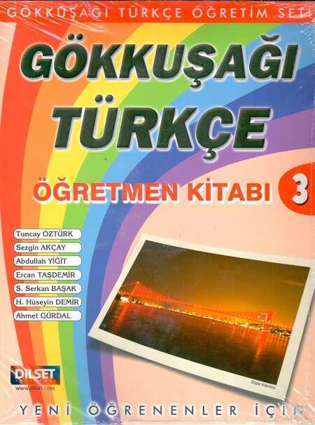 Dilset Gökkuşağı Türkçe Eğitim - Gökkuşağı Türkçe 3 Seti