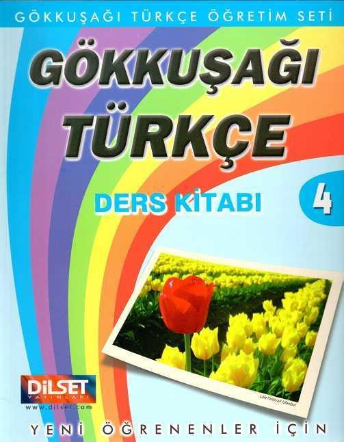 Dilset Gökkuşağı Türkçe Eğitim - Gökkuşağı Türkçe Ders Kitabı 4