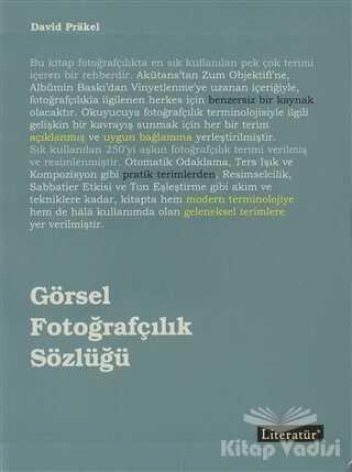 Literatür Yayıncılık - Görsel Fotoğrafçılık Sözlüğü