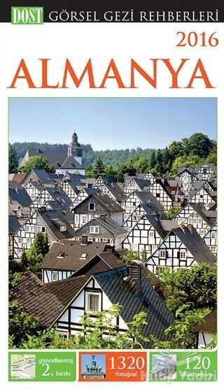 Dost Kitabevi Yayınları - Görsel Gezi Rehberi - Almanya 2016