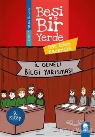 Mavi Kirpi Yayınları - Hak Eden Kazansın - Beşi Bir Yerde 9. Kitap