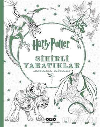 Yapı Kredi Yayınları - Harry Potter Sihirli Yaratıklar Boyama Kitabı