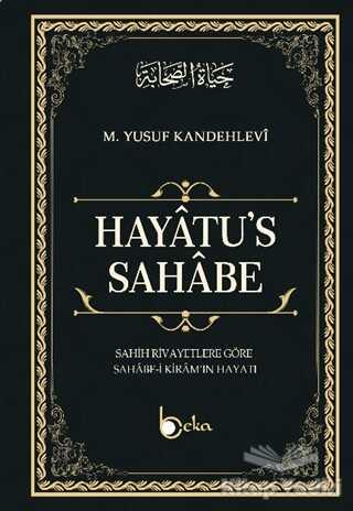 Beka Yayınları - Hayatu's - Sahabe