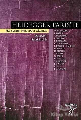 Otonom Yayıncılık - Heidegger Paris'te