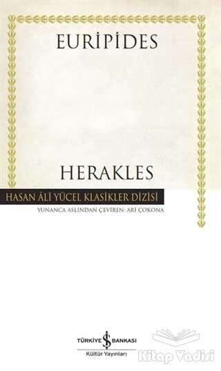 İş Bankası Kültür Yayınları - Herakles (Ciltli)