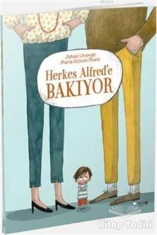 Redhouse Kidz Yayınları - Herkes Alfred'e Bakıyor