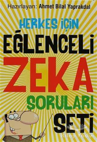 Uğurböceği Yayınları - Herkes İçin Eğlenceli Zeka Soruları Seti (6 Kitap Takım)