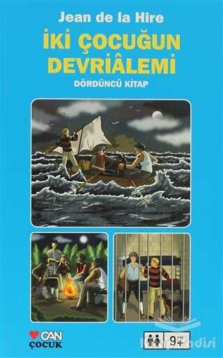 Can Çocuk Yayınları - İki Çocuğun Devrialemi 4. Kitap
