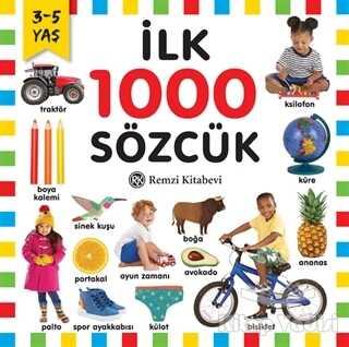 Remzi Kitabevi - İlk 1000 Sözcük