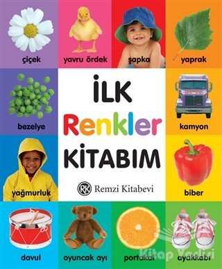 Remzi Kitabevi - İlk Renkler Kitabım