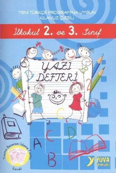 Yuva Yayınları - İlkokul 2. ve 3. Sınıf Yazı Defteri Büyük Boy