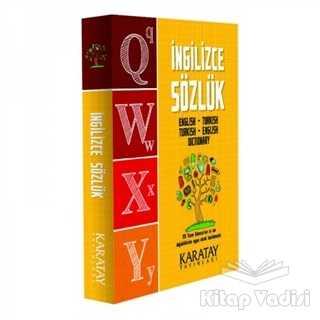 Karatay Yayınları - İngilizce Sözlük