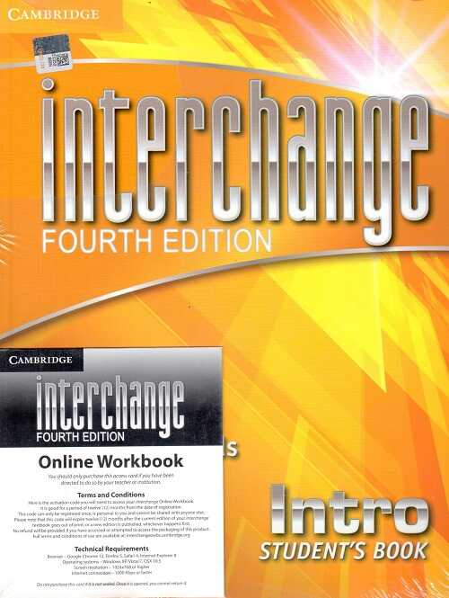 Cambridge University Press - Interchange Intro Student's Book with Self-study DVD-ROM and Online Workbook Pack