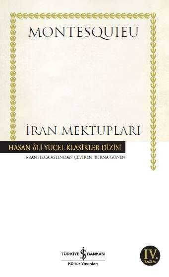 İş Bankası Kültür Yayınları - İran Mektupları