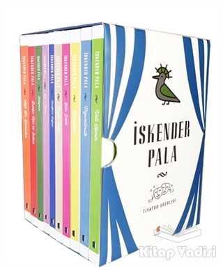 Kapı Yayınları - İskender Pala Tiyatro Eserleri Kutulu Set (10 Kitap Takım)