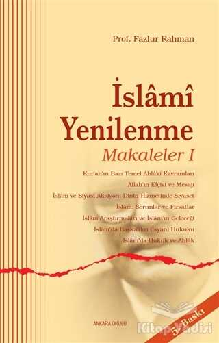 Ankara Okulu Yayınları - İslami Yenilenme - Makaleler 1
