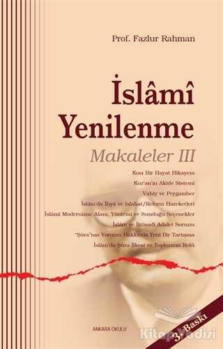 İslami Yenilenme - Makaleler 3