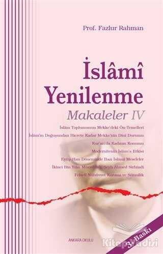 Ankara Okulu Yayınları - İslami Yenilenme - Makaleler 4