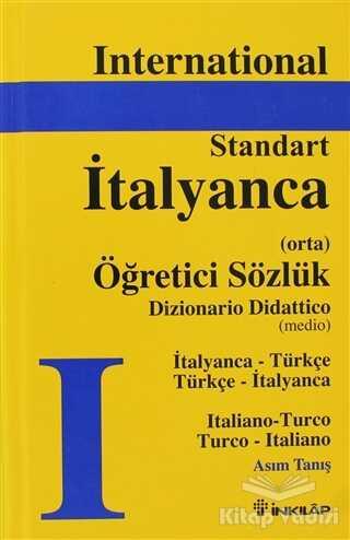 İnkılap Kitabevi - İtalyanca - Türkçe / Türkçe - İtalyanca Standart Sözlük (Orta)