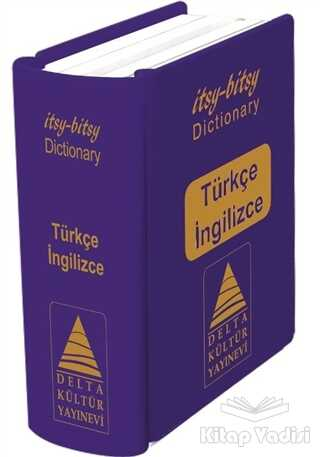 Delta Kültür Yayınevi - İtsy - Bitsy Türkçe - İngilizce Mini Sözlük