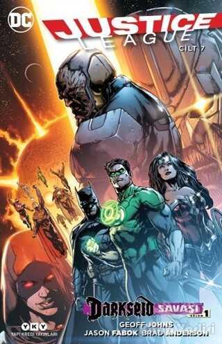 Yapı Kredi Yayınları - Justice League 7 - Darkseid Savaşı Bölüm 1