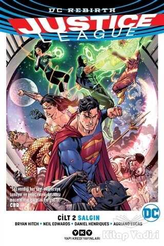 Yapı Kredi Yayınları - Justice League Cilt 2 - Salgın
