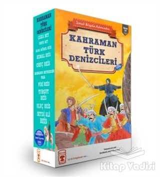 Timaş Çocuk - Kahraman Türk Denizcileri Seti (10 Kitap Takım)
