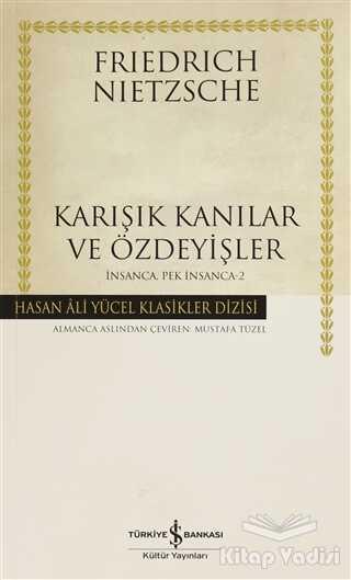 İş Bankası Kültür Yayınları - Karışık Kanılar ve Özdeyişler