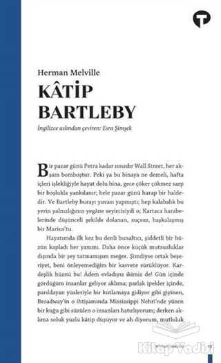 Turkuvaz Kitap - Katip Bartleby