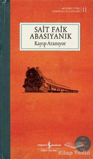 İş Bankası Kültür Yayınları - Kayıp Aranıyor (Şömizli)