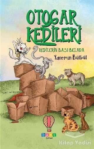 Dahi Çocuk Yayınları - Kedilerin Başı Belada - Otogar Kedileri 2
