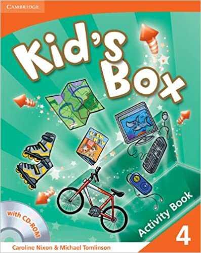 Cambridge University Press - Kid's Box Level 4 Activity Book with CD-ROM