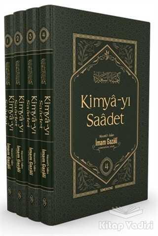 Semerkand Yayınları - Kimya-yı Saadet (Kutulu 4 Cilt Takım)