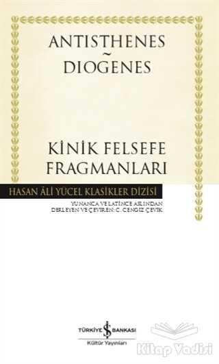 İş Bankası Kültür Yayınları - Kinik Felsefe Fragmanları
