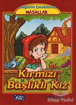 Parıltı Yayınları - Kırmızı Başlıklı Kız (Büyük Boy)
