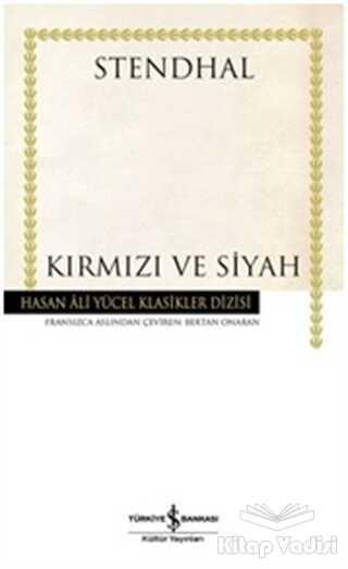 İş Bankası Kültür Yayınları - Kırmızı ve Siyah
