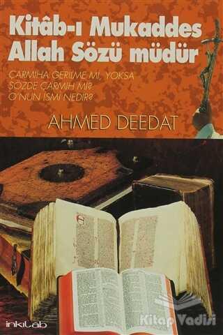 İnkılab Yayınları - Kitab-ı Mukaddes Allah Sözü Müdür