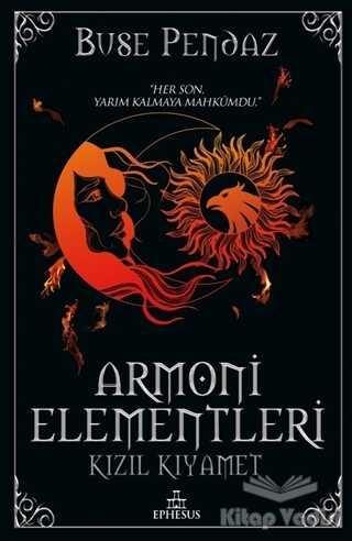 Ephesus Yayınları - Kızıl Kıyamet - Armoni Elementleri 3 (Ciltli)