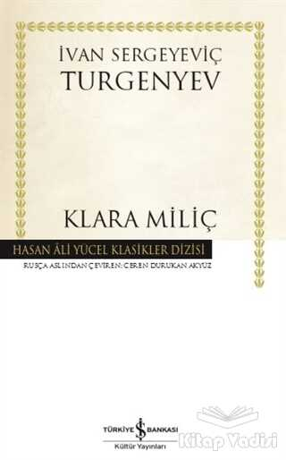 İş Bankası Kültür Yayınları - Klara Miliç