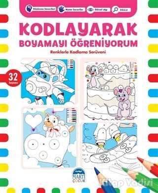 Martı Çocuk Yayınları - Kodlayarak Boyamayı Öğreniyorum 5