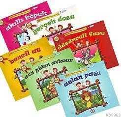 Kolay Ve Hızlı İlk Okuma Kitapları - Bitişik El Yazısı (6 Kitap) Safran Çocuk