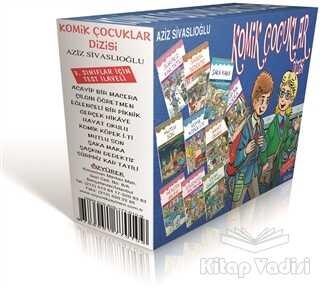 Özyürek Yayınları - Hikaye Kitapları - Komik Çocuklar Dizisi (10 Kitap Takım)
